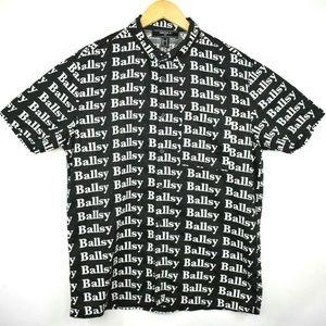 "Forever 21 ""Ballsy"" All Over Spellout S/S Shirt"
